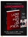 """Lançamento do livro """"LÁPIS NA MÃO DE UM POETA"""", do autor Severianense FRANCISCO VANDERLI DE ARAÚJO."""