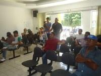 Prefeito Carlos Aquino, o Vice Joca e Dr. Neri visitam a Câmara